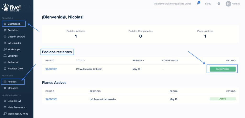 He Comprado Más De 1 Usuario De Lvi, ¿cómo Completo La Información De Mis Otras Cuentas?