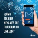 Escribir mensajes en LinkedIn