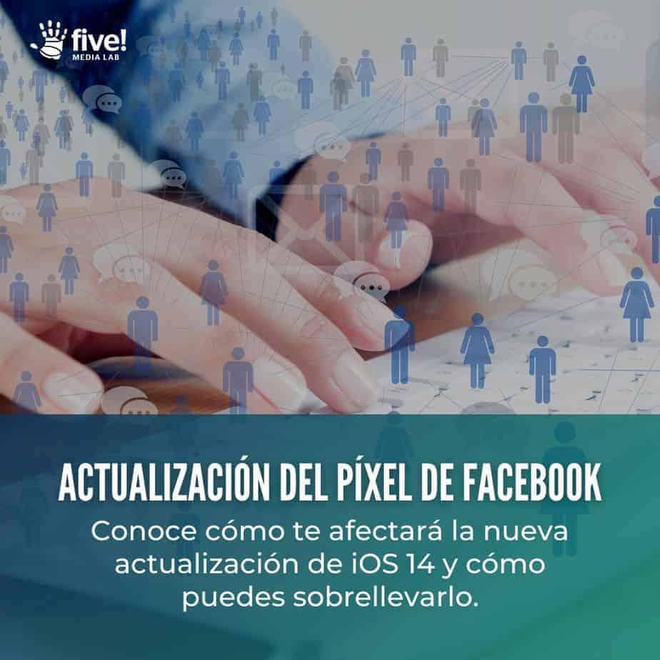 actualización del píxel de Facebook