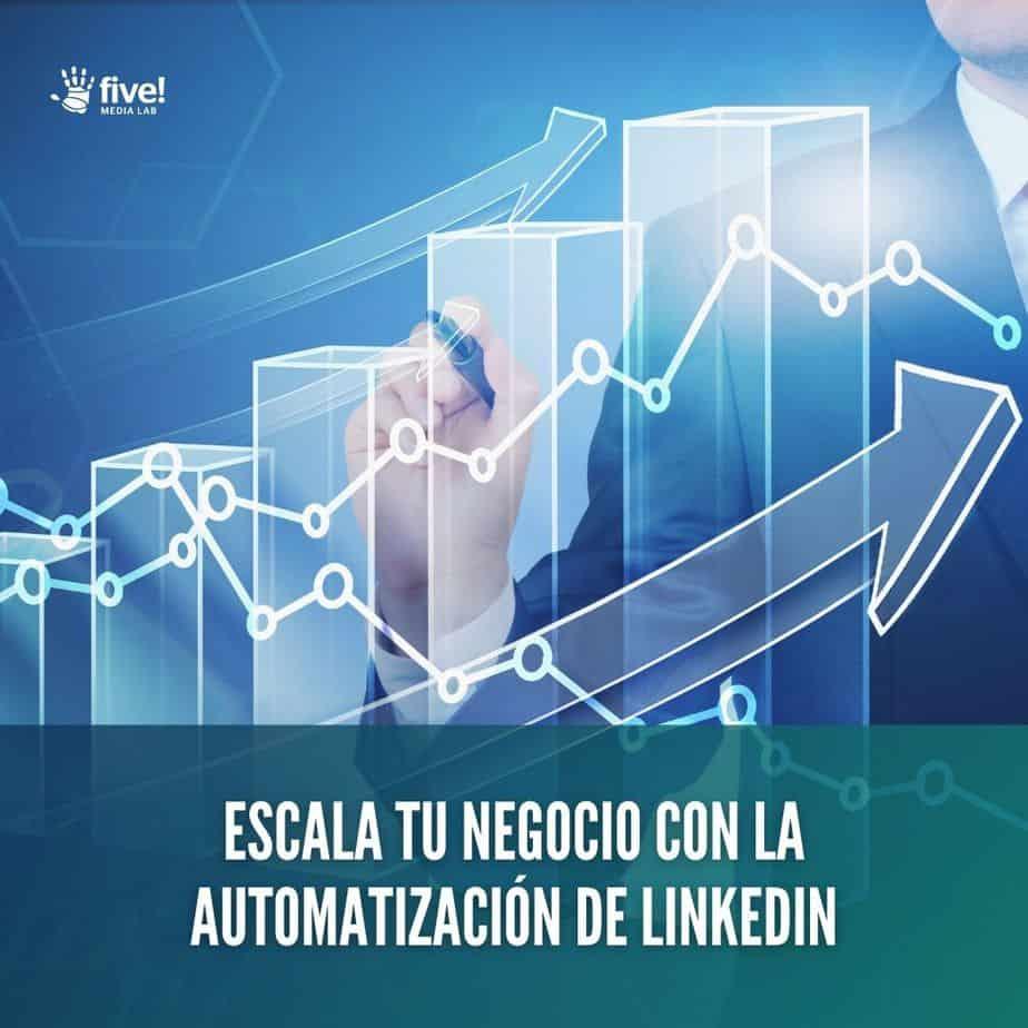Haz Escalar Tu Negocio Con La Automatización De Linkedin