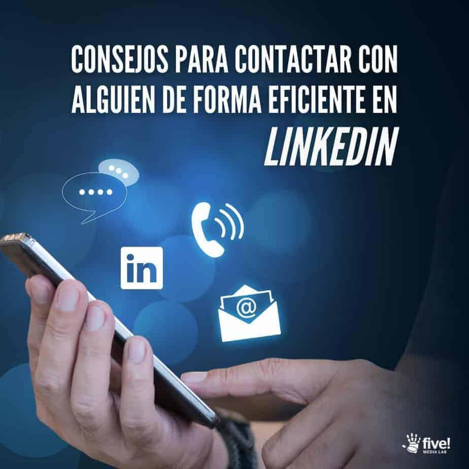 Como contactar por LinkedIn