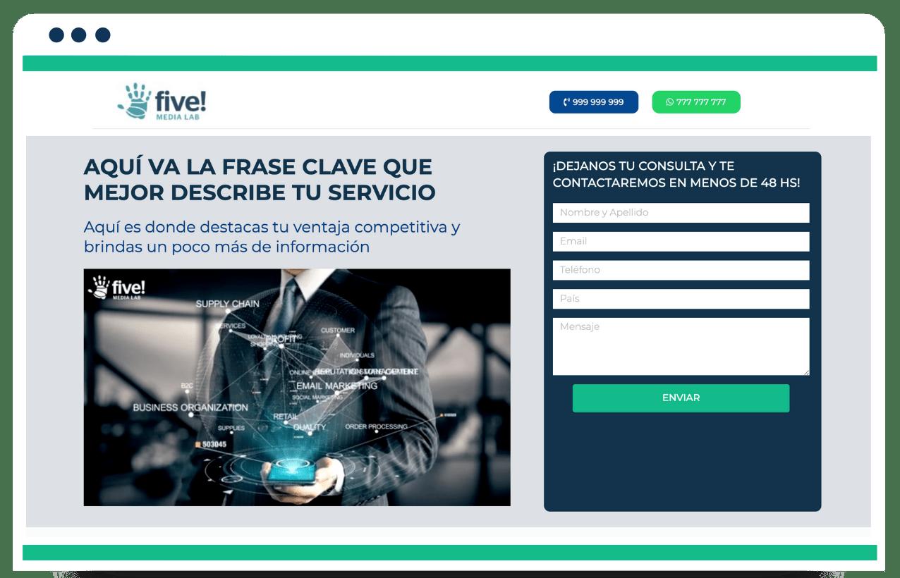 Five! Media Lab – Plataforma De Servicios Digitales