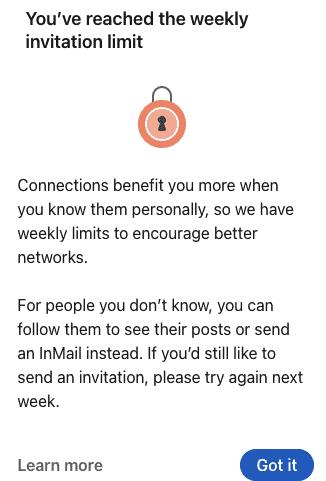 ¿cuántas Invitaciones Pueden Enviarse En Linkedin?