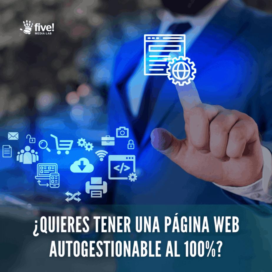 webs autogestionables